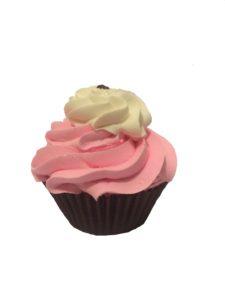 Neapolitan Cupcake Bath Bomb